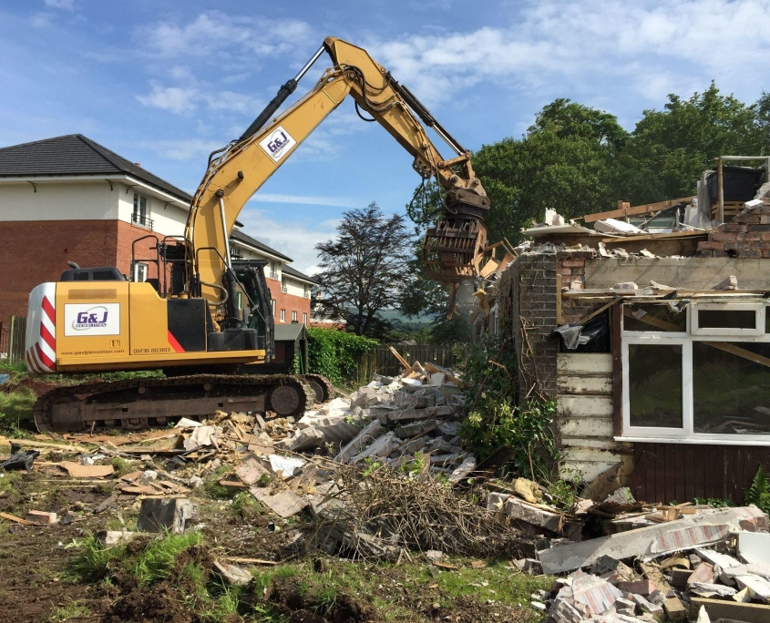 Demolition Services Glasgow